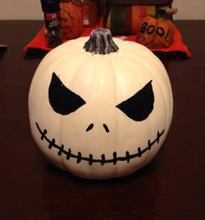 Halloween ideas jack skellington pumpkin decoration - Jack skellington decorations halloween ...