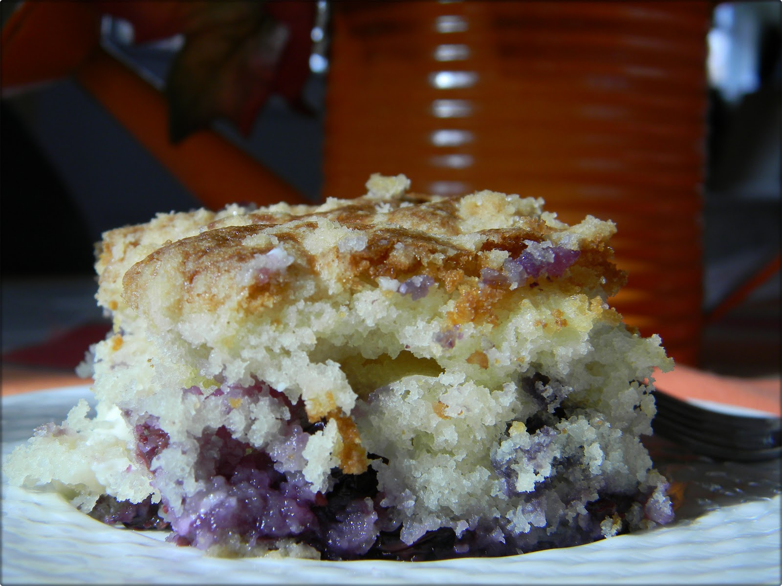 Musing Potpourri: Blueberry Cream Cheese Coffee Cake
