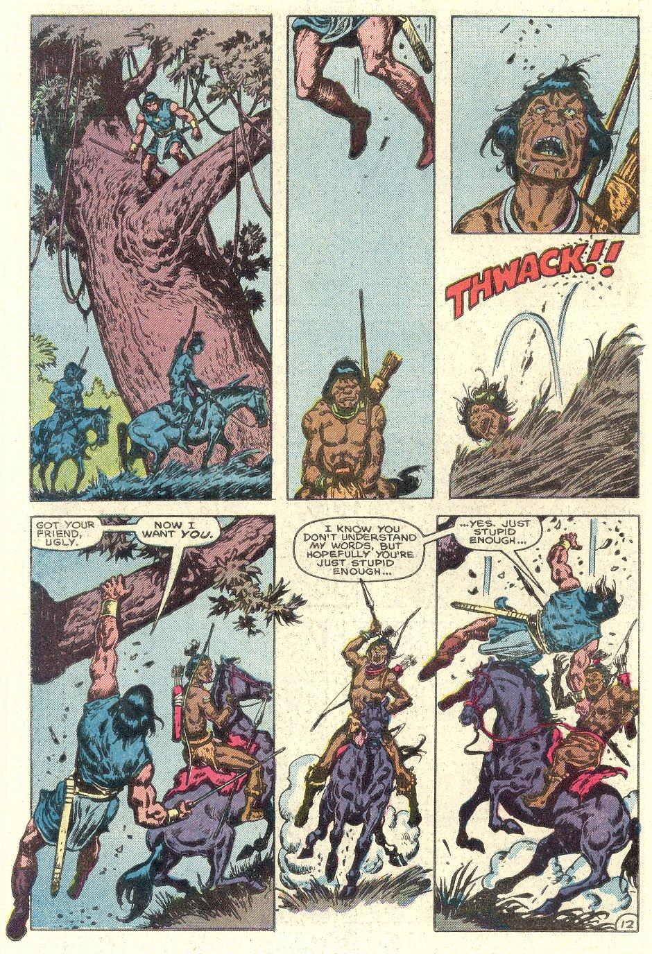 Conan the Barbarian (1970) Issue #182 #194 - English 13