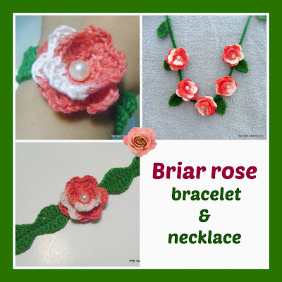 crochet briar rose