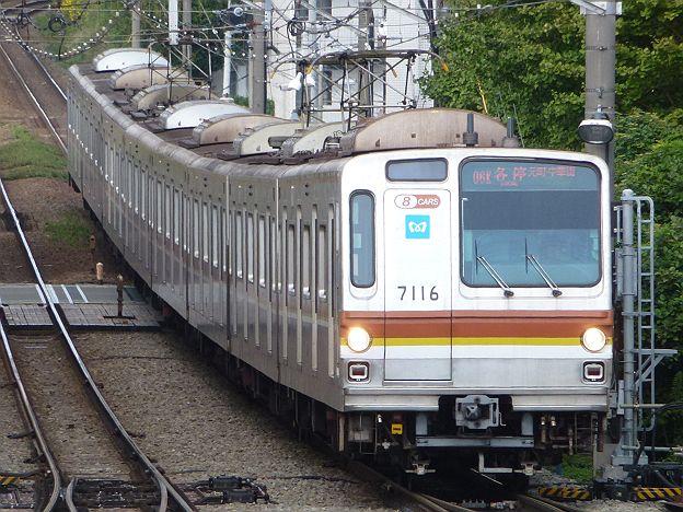 東急東横線 各停 元町・中華街行き 7000系@自由が丘