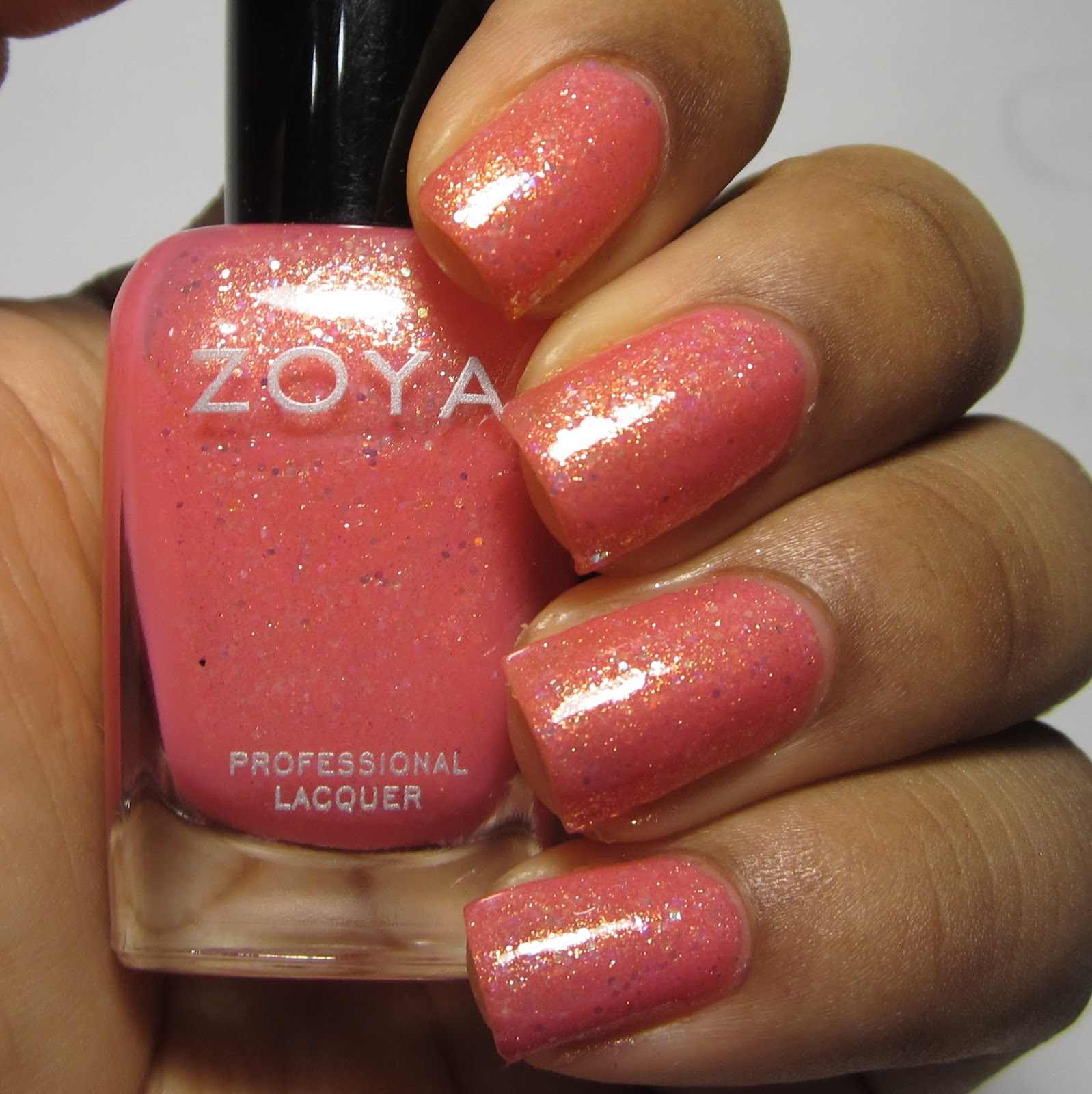 Zoya Harper Bubbly Collection nail polish swatch