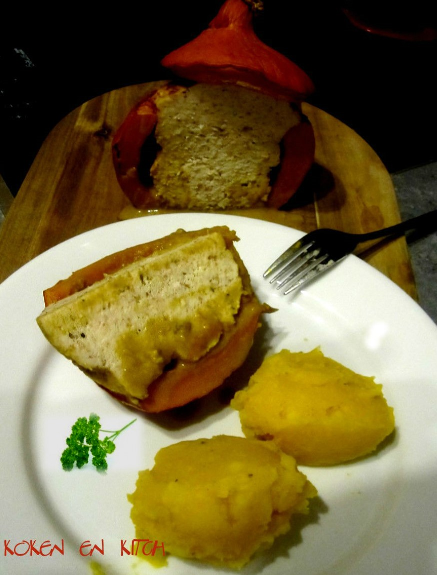 stokbrood gevuld gehakt