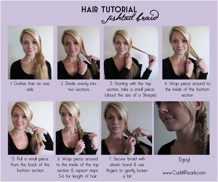 fishbone braid instructions - photo #18