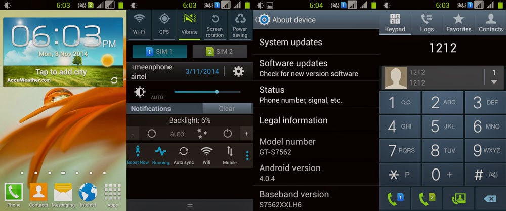 Custom ROM Real Samsung Galaxy S for Lenovo A369i Terbaru!