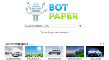 wallpapers o fondos de escritorio gratis en Botpaper - www.dominioblogger.com
