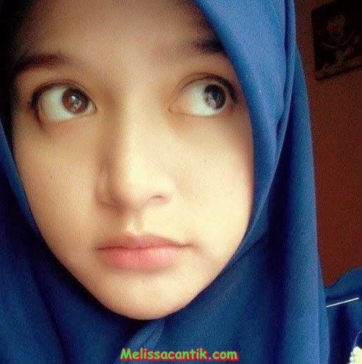 Foto Cewek Manado Berjilbab, Cantik Putih Mulus