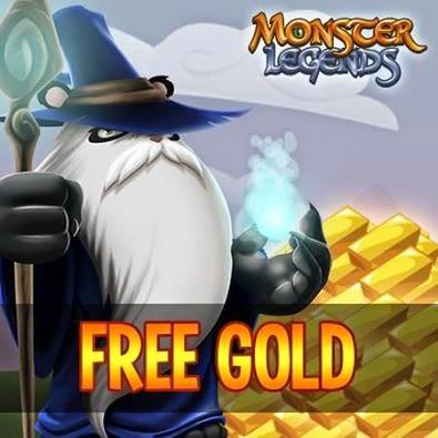imagen del oro gratis de monster legends