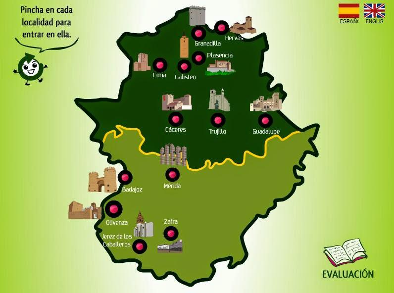 Monumentos de Extremadura