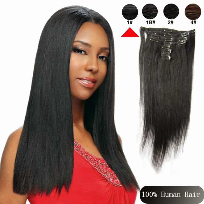 Sina Virgin Hair Weaves Sophia 6a Brazilian Clip In Human Hair