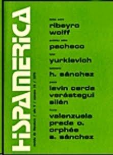 Nueva cuentística venezolana: breve inmersión - 'Homero haciendo zapping' en Hispamérica, #97, University of Maryland, 2004