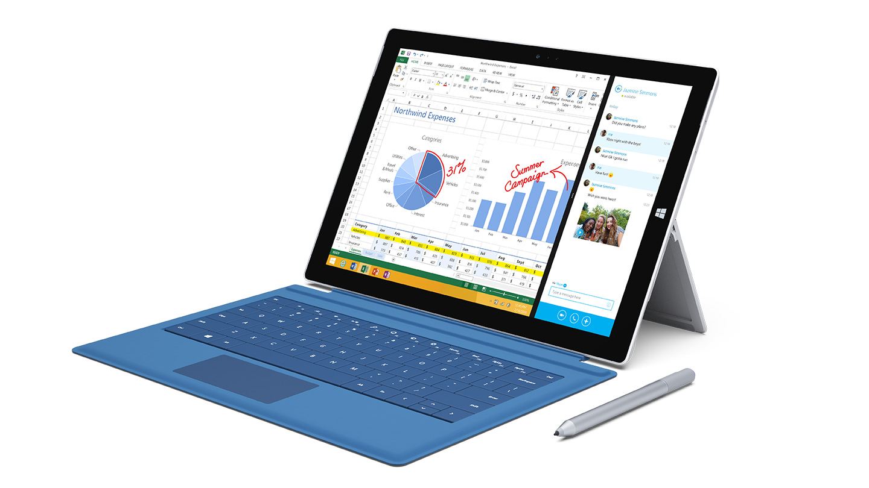 Surface Pro 3 Blue