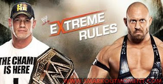 Watch WWE Extreme Rules 2013 PPV WWE Championship Match Ryback vs John Cena