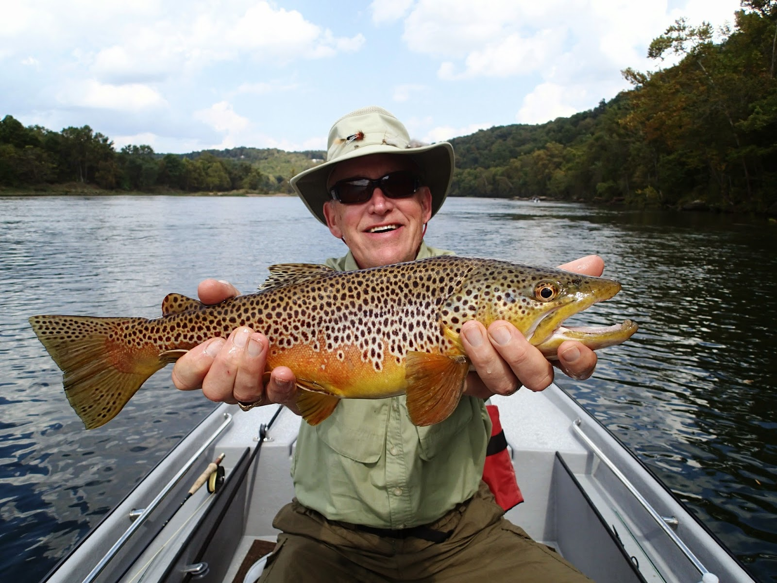 A fly fishing report and blog for the white and norfork for Blue river fishing report