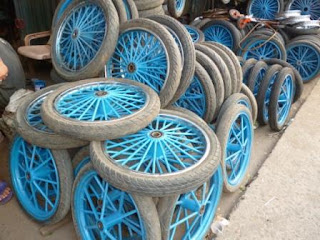Roda Gerobak Dorong