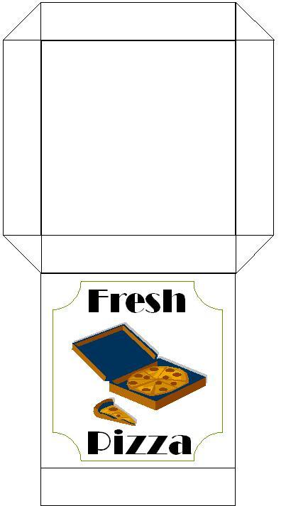 my froggy stuff printables pizza box - Google Search | 20 t?m ...