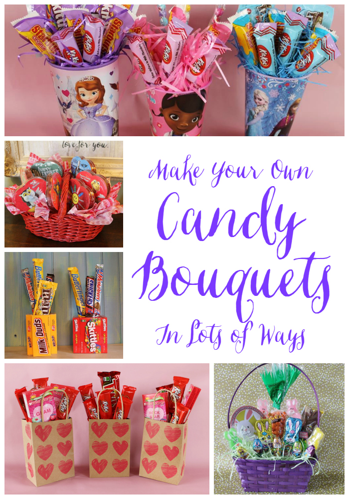 Make Candy Bouquets Lots of Ways | Miss Kopy Kat