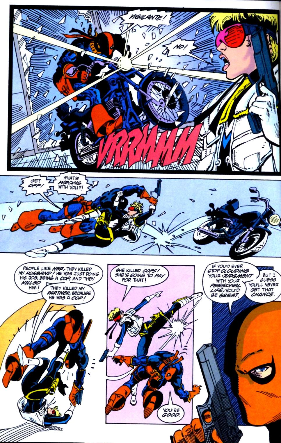 Deathstroke (1991) Issue #21 #26 - English 21
