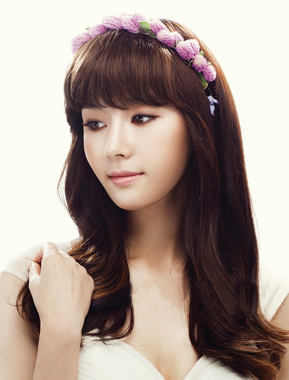 Loveil Wedding : 2014 / 2015 Latest Korean Bridal Hair and ...