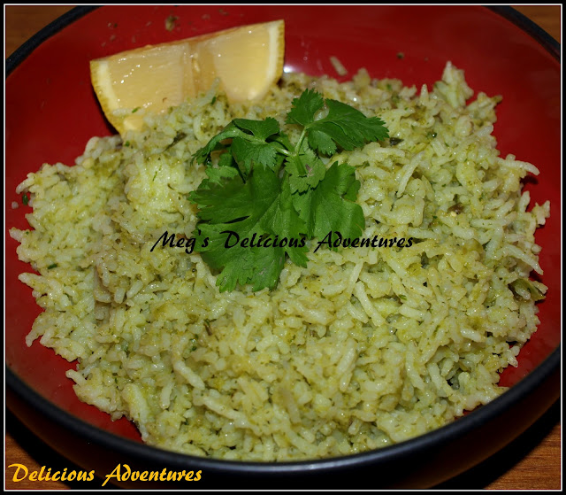 Mexican Green Rice (Arroz Verde)