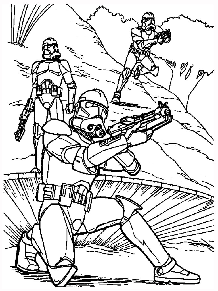 Free Colouring Pages Star Wars : Free printable star wars coloring pages