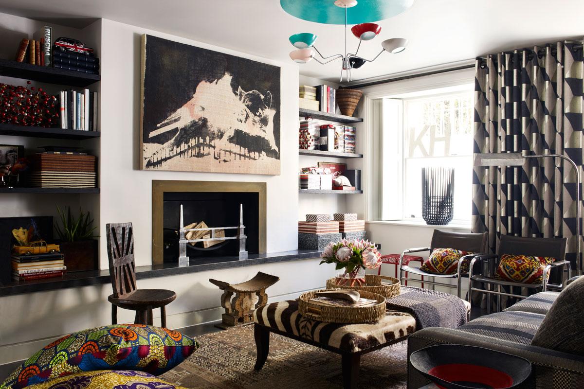 Alive kicking elle decor london assurance for London interiors