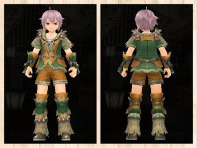 緑竜の衣 重量化 男