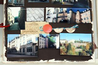 Travelbook с большим количеством фотографий. Материалы из магазина Скрапбукшоп.