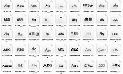 Font Distro Kumpulan Font Distro untuk Desain Photoshop