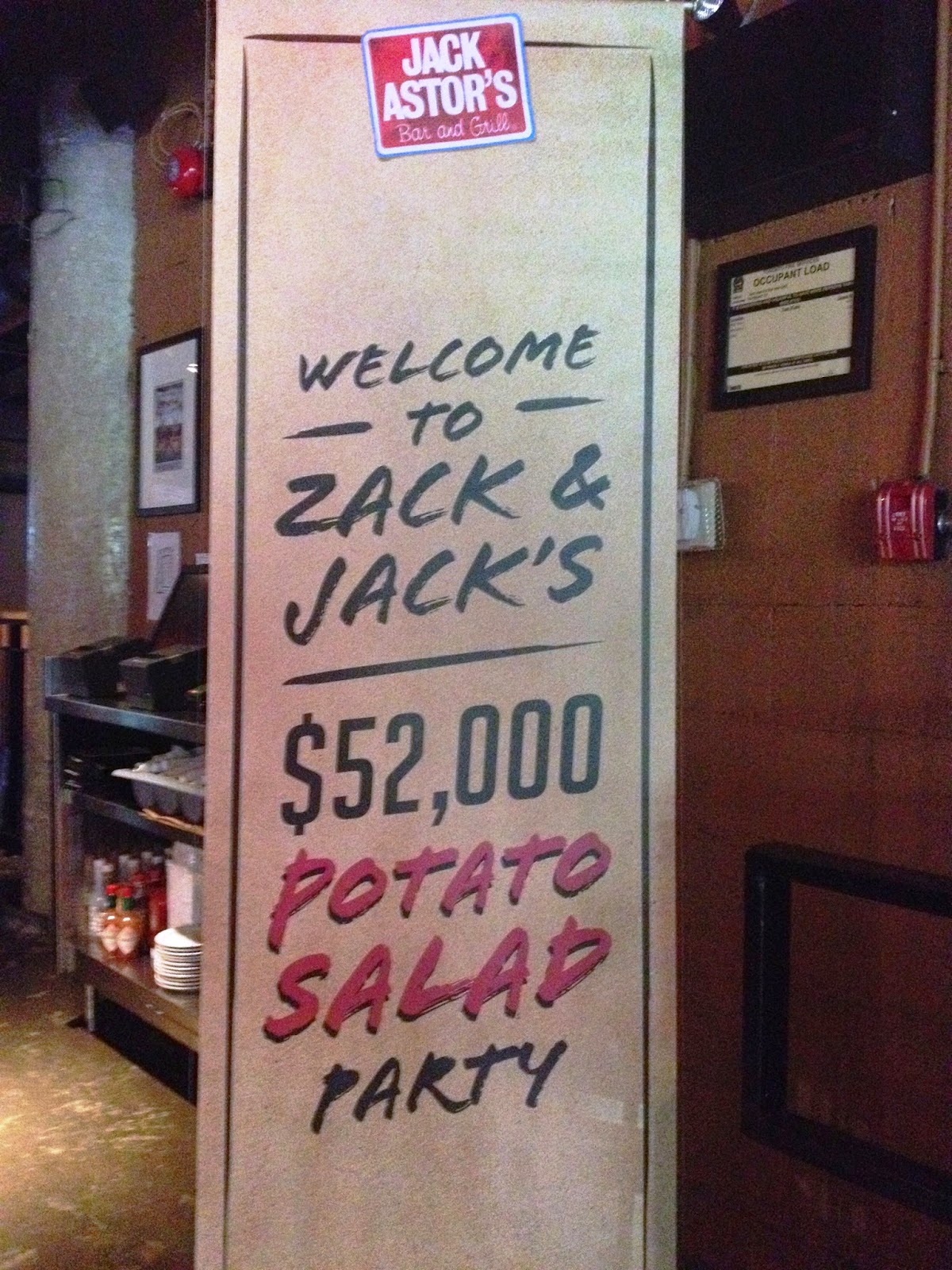 Zack & Jack's $52,000 Potato Salad Party