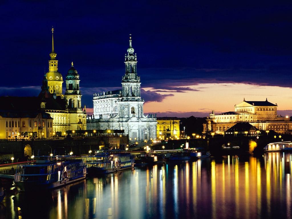 Dresden Alemania paisaje