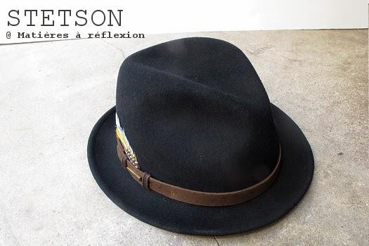 Chapeau homme Stetson hiver 2014