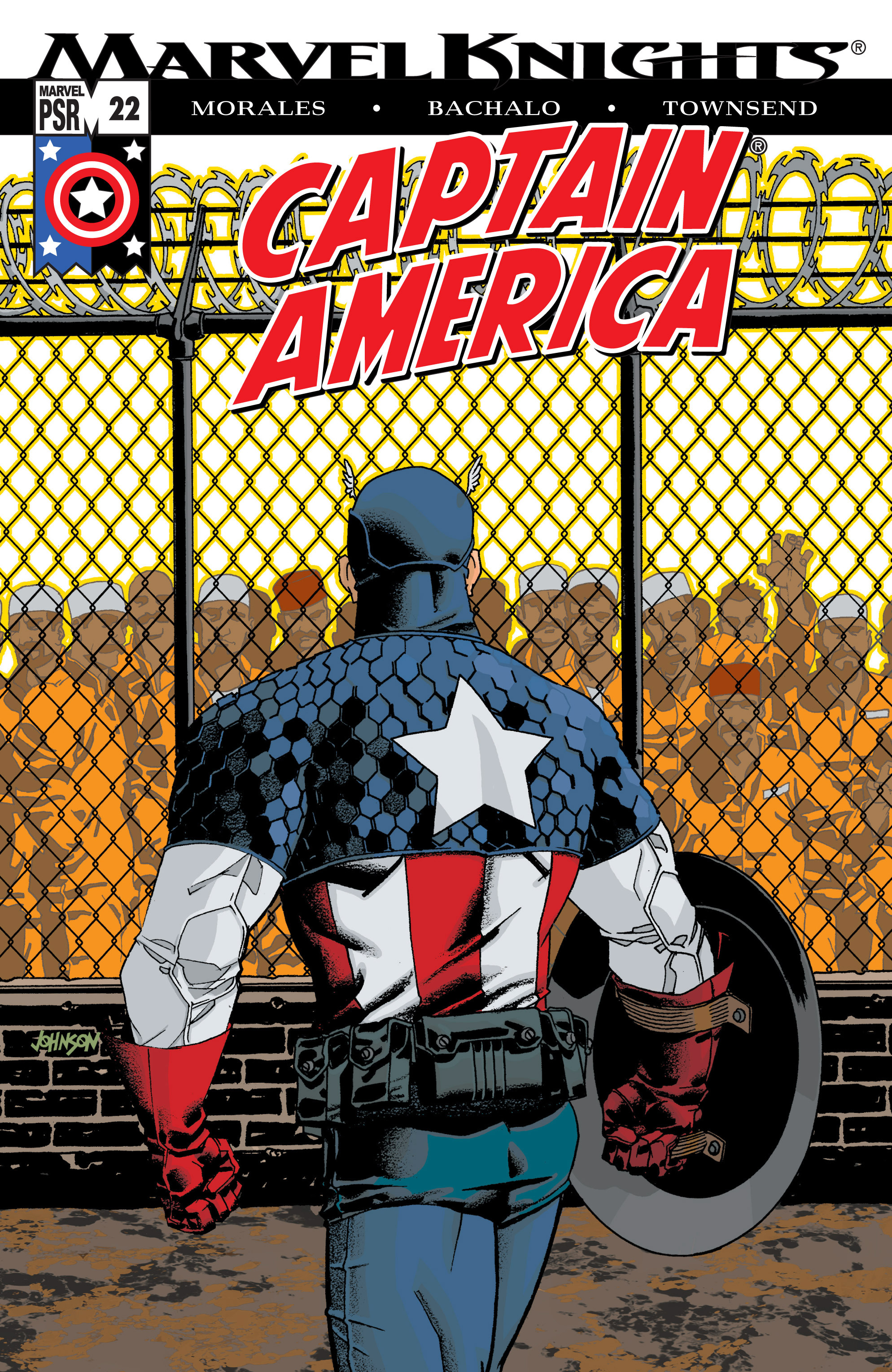 Captain America (2002) Issue #22 #23 - English 1