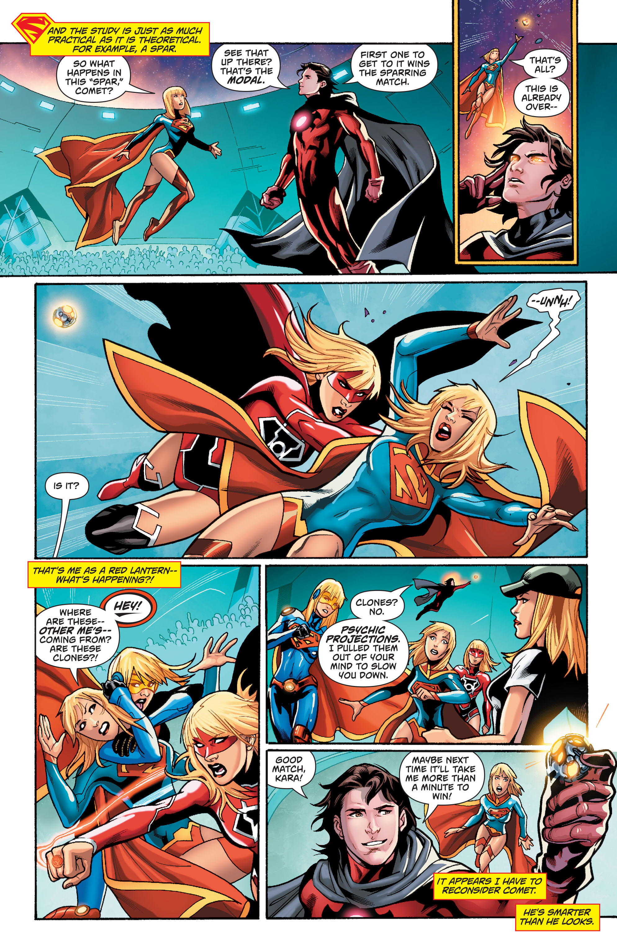 Supergirl (2011) Issue #37 #39 - English 8