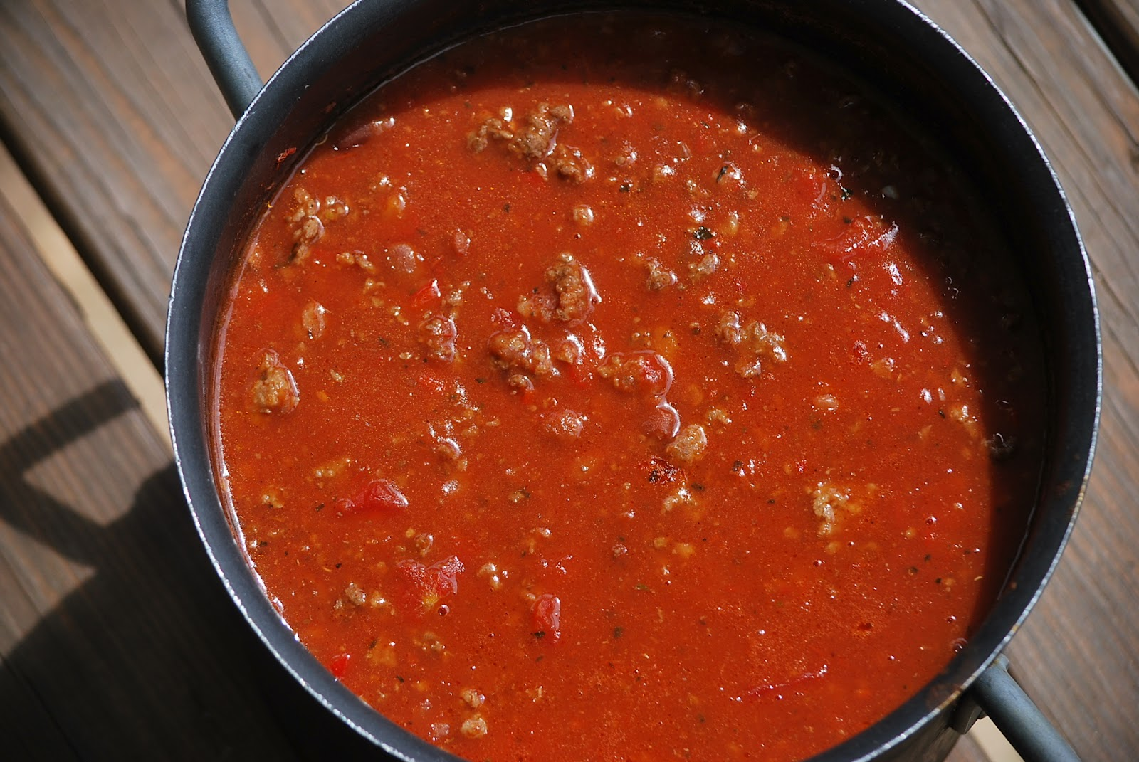 My story in recipes: Italian Chili