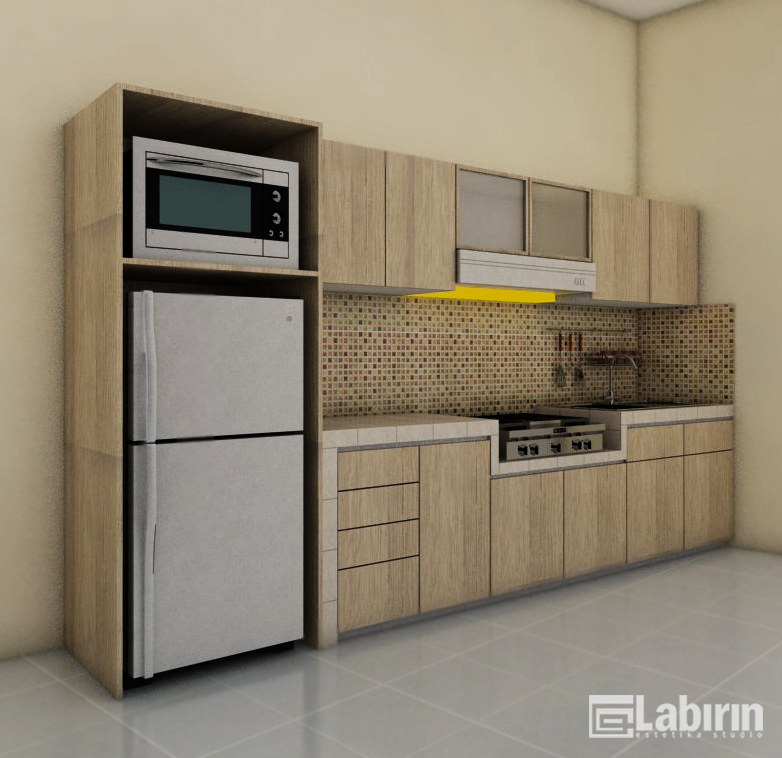 Kitchen set minimalis harga manis kitchen set malang for Harga kitchen set minimalis per meter