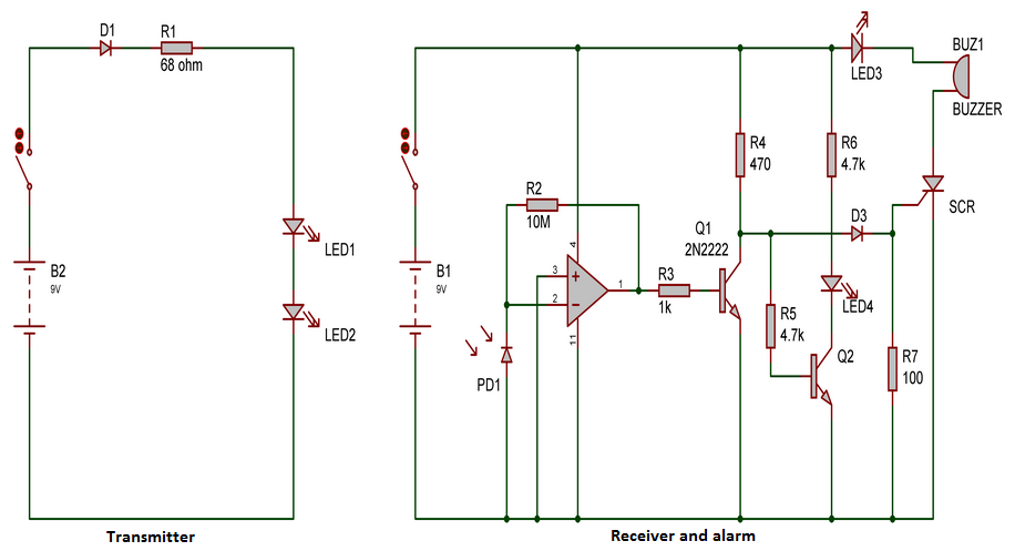 intruder-alarm-circuit-infra-red-ir-beam