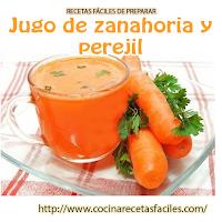 zanahoria , perejil