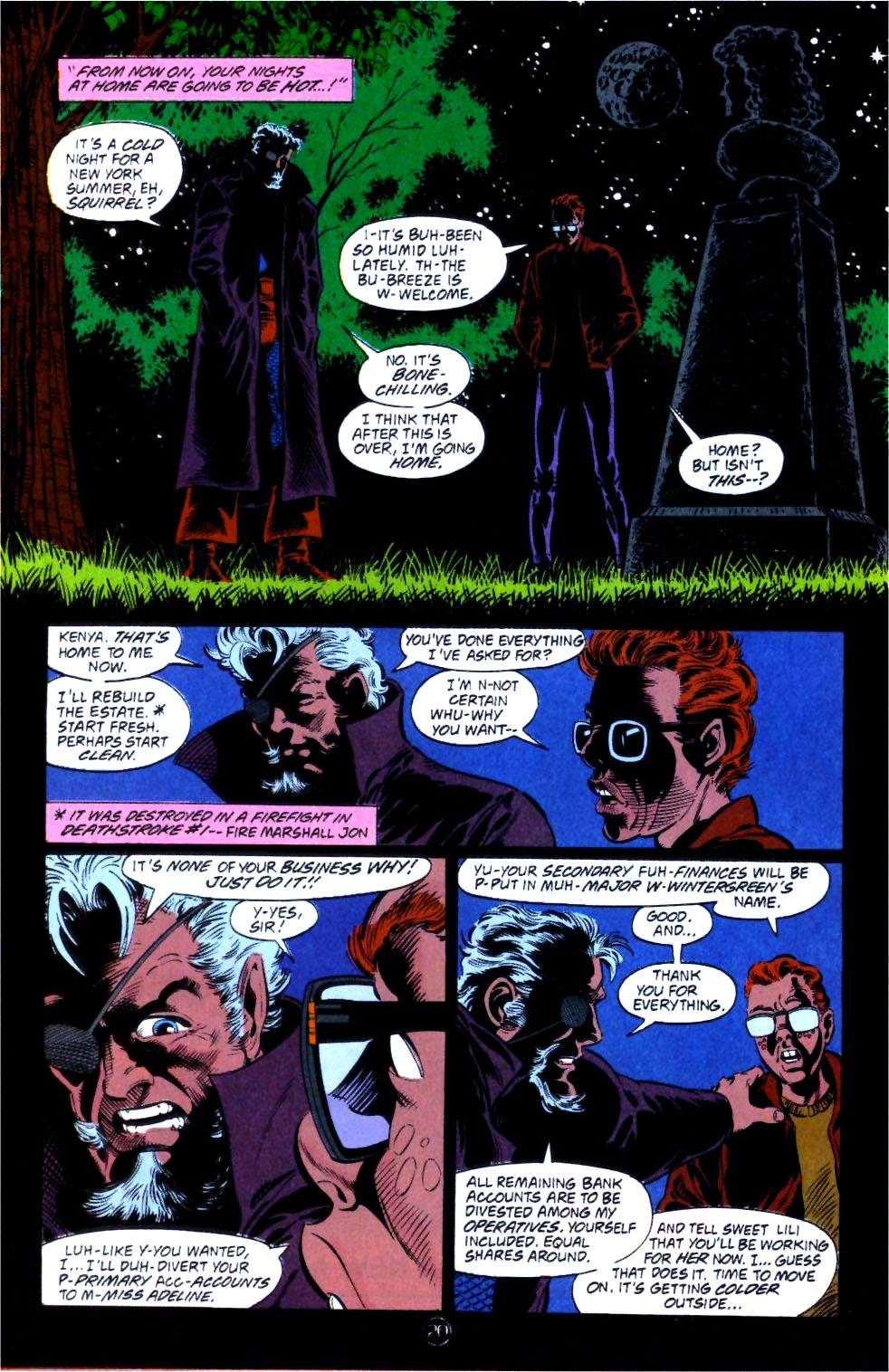 Deathstroke (1991) Issue #14 #19 - English 21