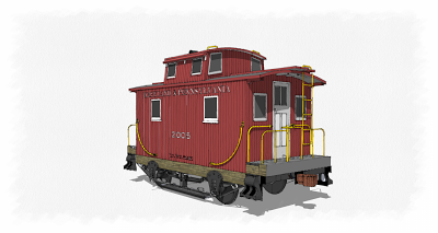 SUBMITTAL #5 - BOBBER CABOOSE