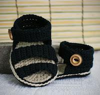 aprenda a fazer sandálias infantis de crochê