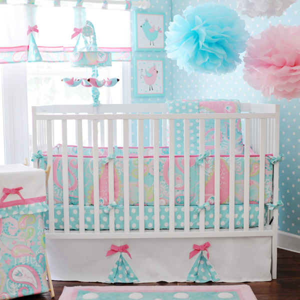 Sprinkle me pink blog diy creations adorable new girls Baby girl bedding