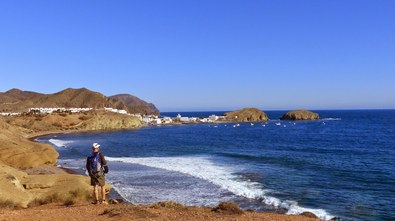 Walking towards La Isleta from Los Escullos
