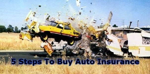 5 Steps To Buy Auto Insurance
