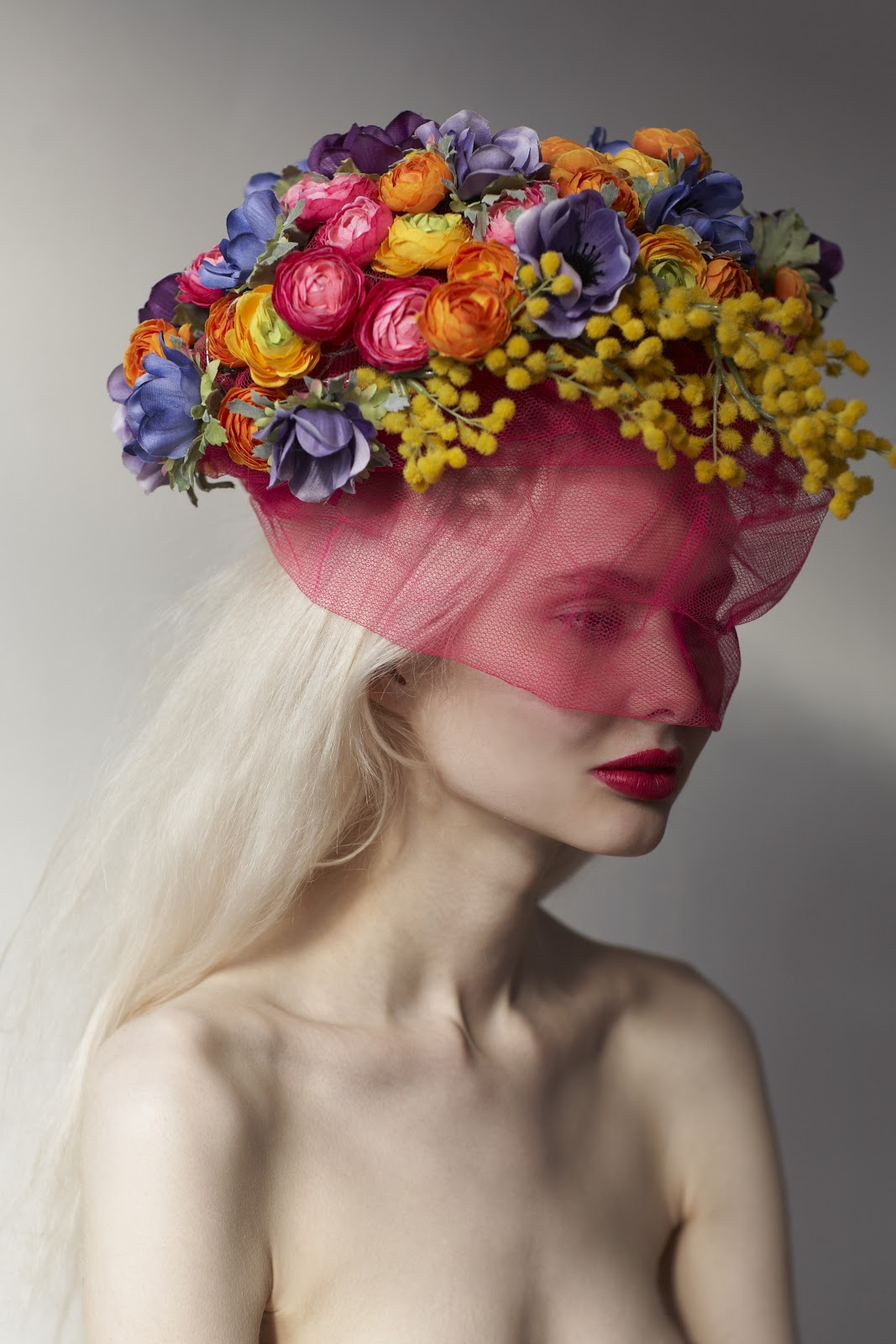 Мода в цветах фото