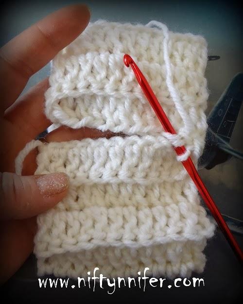 Niftynnifers Crochet Crafts Easy Boot Cuffs Free Crochet Pattern