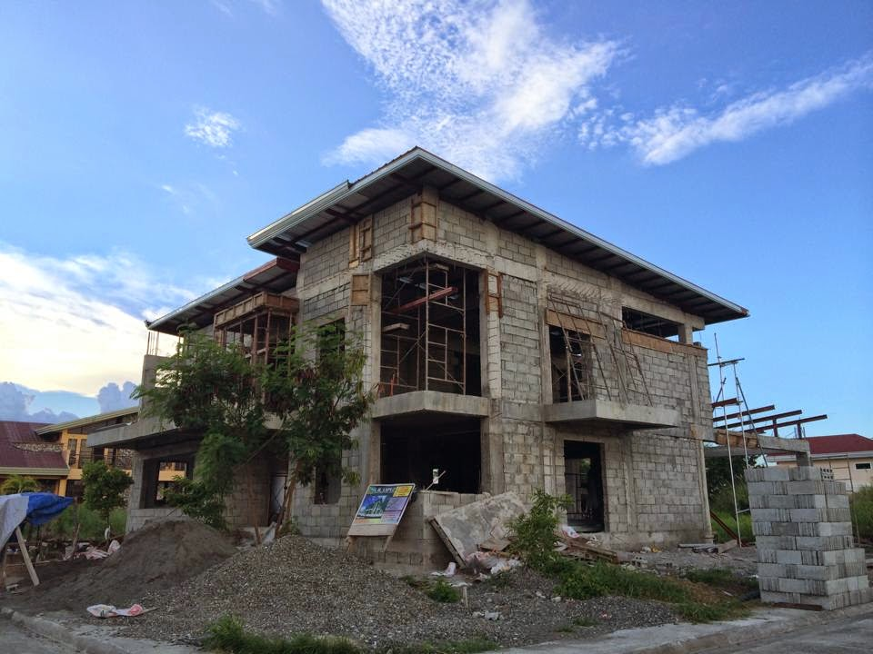 Lb lapuz architects builders philippines westwood subd for Simple two storey house design in the philippines
