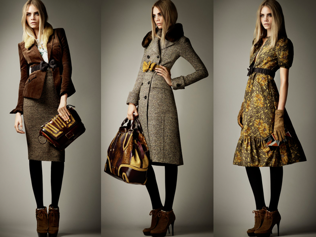 Burberry pre fall 2012