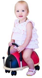 Correpassadissos Wheely bug indoor per a nens i nenes