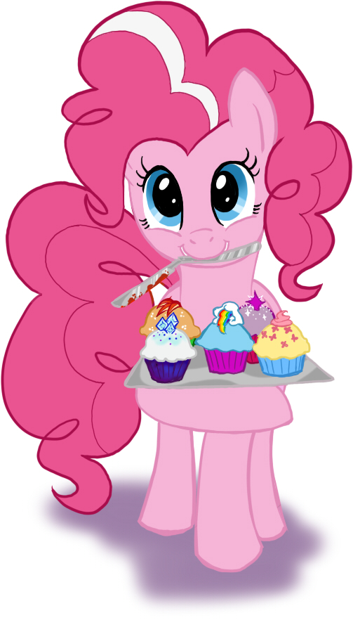 Pinkie Cupcakes